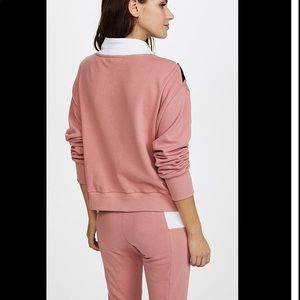 Wildfox Tops - Wildfox Sweatsuit in Mulled Rose Multi